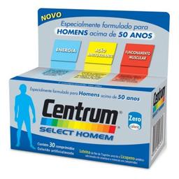 Comprimidoslexo Vitamínico Centrum Select Homem 30 Comprimidos