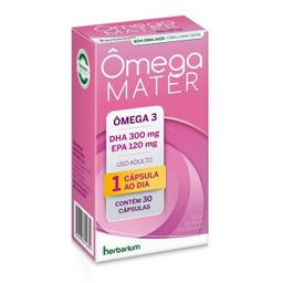 Omega Mater 300 / 120 Mg Com 30 Cápsulas