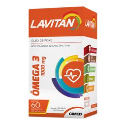 Lavitan Mega 3 Com 60 Cápsulas