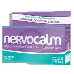 Nervocalm 250 Mg Com 60 Comprimidos