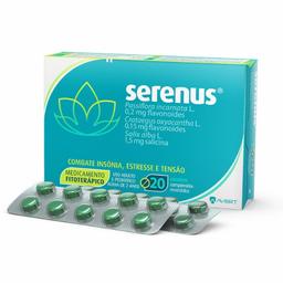 Remédio Serenus Com 20 Comprimidos