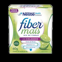 Fibra Alimentar Nestlé Fiber Mais Colágeno Sabor Limão