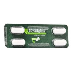 Novalgina 1 g 4Cpr Sanofi