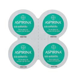 Aspirina Microativa 500mg Com 4 Comprimidos