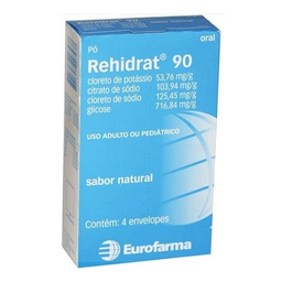 Rehidrat 90 Sabor Natural 4 Envelopes