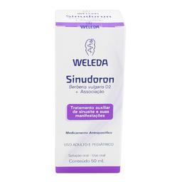 Solução Oral Sinudoron Weleda 50 mL