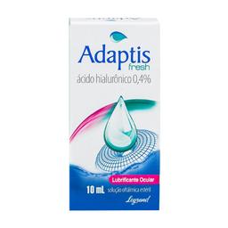 Adaptis Fresh 0,4% Solução Oftálmica 10ml