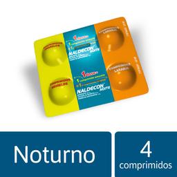 Naldecon Noite 4 Comprimidos