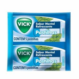 Pastilhas Vick Mentol 5 Und