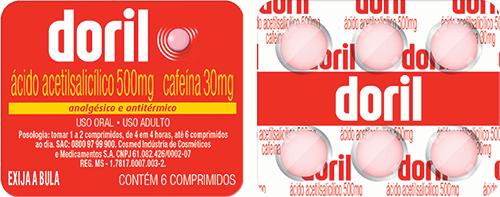 Doril 6 comprimidos