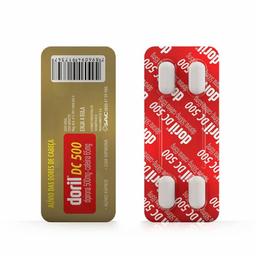 Doril Dc Blister 4 comprimidos