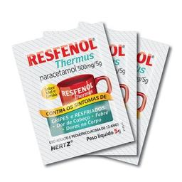 Resfenol Thermus Sabor Mel e Limão IAG 5 g