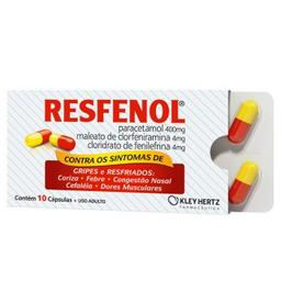Resfenol Iag Com 10 Cápsulas