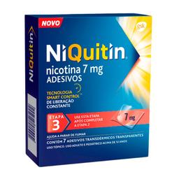 Niquitin Dp 7 Mg Com 7 Adesivos