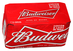 Budweiser America Larger 269ml c/ 8 und