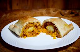 Empanada Carne Seca E Abóbora