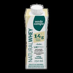 Bebida Láctea Verde Campo Sem Lactose Whey Baunilha 250 mL