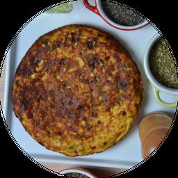 Omelete de Quiejo Minas e Peito de Peru