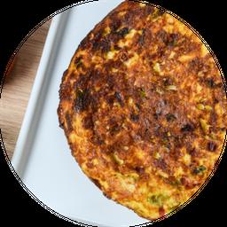 Omelete de Carne de sol
