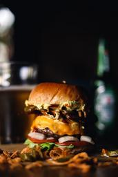 Raw Rappi Burger