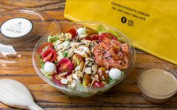 Salada Salmão Cabra