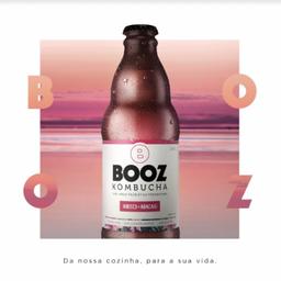 Booz Kombucha Hibisco e Abacaxi