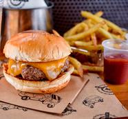 Smash Burger+ Batata frita