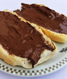 Pão Com Nutella - 280006