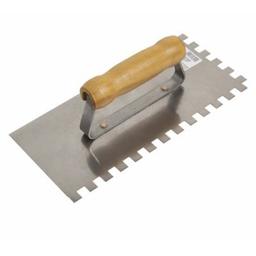 Desempenadeira Aco Dentes 10X10 cm Cortag