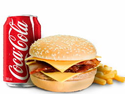 X-Bacon + Coca-Cola 350ml