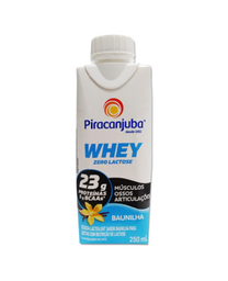 Piracanjuba Zero Whey Baunilha 250 Ml