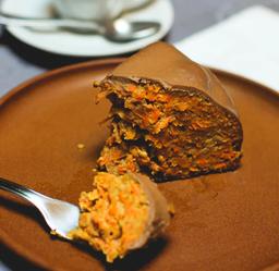 Cake de Cenoura e Brigadeiro