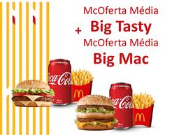 McOferta Média Big Mac + McOferta Média Big Tasty