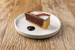 Torta Marzipã E Chocolate