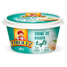 Creme De Ricota Lighit 200 g