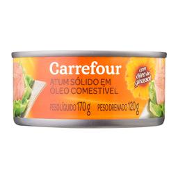 Atum Pedaços Óleo Carrefour 170 g