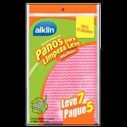 Alklin Pano para Limpeza Leve Rosa