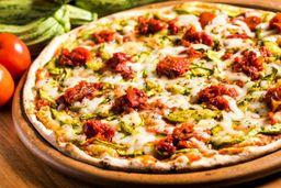 Pizza Vegana de Abobrinha