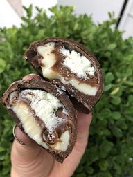 Bombom recheado ninho com nutella