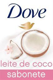 Sabonete Barra Dove Leite De Coco 90 g