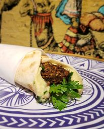 Sanduíche de Falafel - Vegano