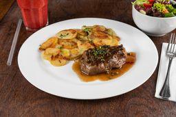 Steak de Mignon Au Poivre