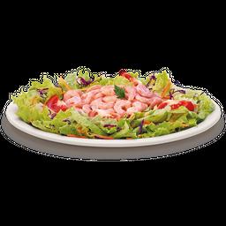 Salada com Camarão Picante