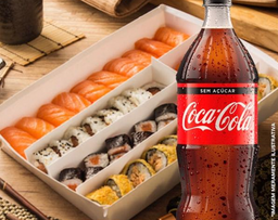 Combinado 44 peças + Coca-Cola 1L