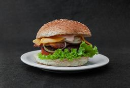 26 - Hamburguer Acebolado com Bacon
