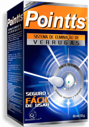Pointts Antiverrugas 80 Ml