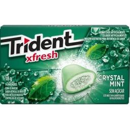 Chiclete Trident Xfresh Mint 18 g