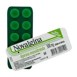 Novalgina 500 mg Envelope com 10 Comprimidos