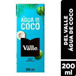 Água De Coco Del Valle 200 mL