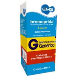 G Bromoprida Gotas Ems 20 mL